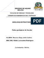 Caratula Geologia estructural