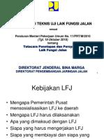 Kebijakan tentang  LFJ