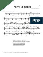 Canzone Popolare - Apreite Le Porte