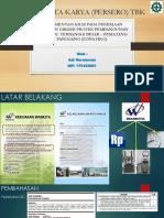 Materi Presentasi Adi Kurniawan. DV. TBPPHK-2 (KASIE JAMU)