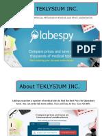 Teklysium Inc Presentation