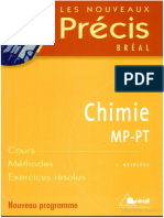 Chimie MP PT