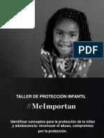 Me Importan Taller de Proteccion Infantil