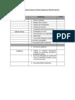 Pauta de Orientación Material de Sala y Cuaderno