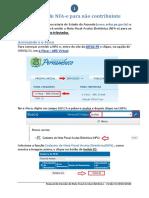 Manual de Emissão Da NFA-e