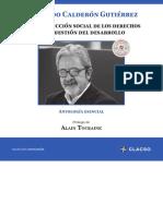 Calderon Fernando, La Construccion Social de Los Derechos y La Cuestion Del Desarrollo