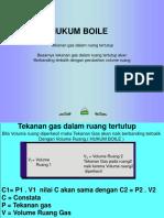 Hukum Boile
