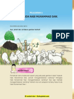 Pelajaran 5 Masa Muda Nabi Muhammad SAW