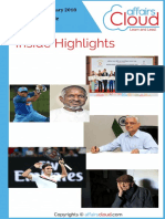 Current Affairs Study PDF - January 2018 by AffairsCloud pdf