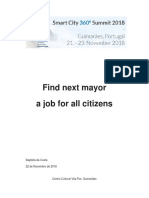 Find Next Mayor a Job for All Citizens