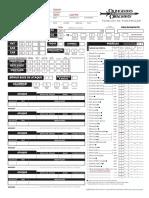 D&D 3E - Ficha de Personagem 3.5 - Interativa (v. Johan Alexey) - Biblioteca Élfica [Fareus]