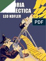 Historia y Dialéctica - Leo Kofler 1955