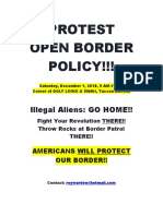 PROTEST TUCSON CITY OPEN BORDER POLICY