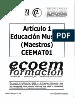 Andalucia Maestros 2017 Criterios