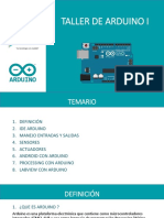 Taller de Arduino i