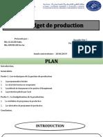 Budget de Production