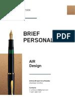 Brief Air Design