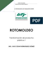 Unidad III Rotomoldeo