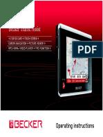 Becker Traffic Assist 7926 7927 Operating Instructions