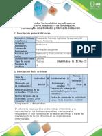 Guía de Actividades y Rúbrica de Evaluación - Paso 6 - Estudio de Caso
