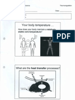 Thermoregulation Fong Notes