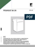 Manual Instrucciones PEGASUS 56 LN