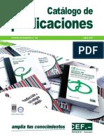 Catalogo Publicaciones CEF 2016