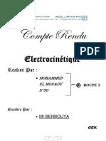 Électrocinétique