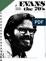 Bill Evans 70's & 80's