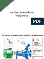 Puntos de medición vibracional
