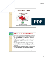 9. Validasi Data Indikator Mutu