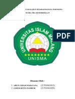 Pancasila Dalam Kajian Sejarah Bangsa Indonesia Di Era Pra Kemerdekaan Dan Di Era Kemerdekaan(1)
