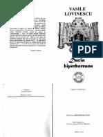 Vasile Lovinescu -- Dacia Hiperboreana