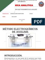 Método Electroquímicos de Análisis Qumica