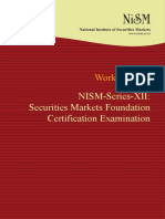 NISM Series XII Securities Markets Foundation Workbook February 2018