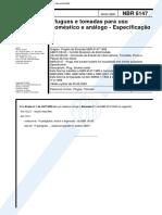 NBR 6147 - Maio 2000 - Plugues e Tomadas Para Uso Doméstico e Análogo - Especificação