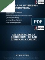 Efectos de La Corrosion en Las Turbinas de Vapor
