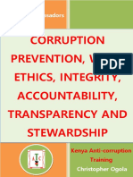 Anti Corruption Book