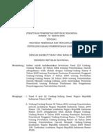 Pp No79 Th2005 Ttg Pedoman Pembinaan Dan Pengawasan Penyelenggaraan Pemerintah Daerah