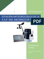 Estación Meteorológica. Anccasi