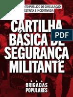 Cartilha básica de segurança militante
