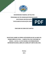 Tese Cristiane Silveira Dos Santos - Versão Final Para Impressão
