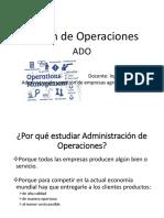 Gestion de Opéraciones