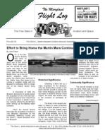 Glenn L. Martin MD Aviation Museum - Spring 2007 Newsletter