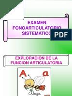 Examen Fonoarticulatorio Sistematico (1)