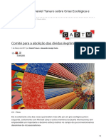 Entrevista Com Daniel Tanuro Crise Ecológica e Ecossocialismo