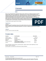 Jotatemp 1000 Ceramic Technical Data Sheet