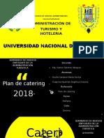 Plan de Catering...
