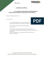 28-11-2018 Agenda Claudia Pavlovich