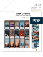 Izzet Drakes by Eddie Caudill Visual Deck View